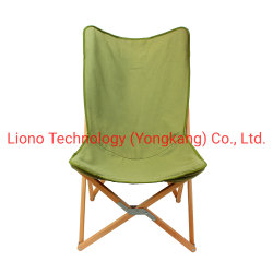옥외 나무로 되는 화포 바닷가 접히는 라운지용 의자 홈 체조