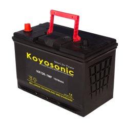 Gedichtetes wartungsfreies batterie-Auto der Autobatterie-12V 80ah Automobilselbstder batterie-Nx120-7