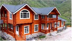 Светлой деревянной рамой деревянные здания вилла недалеко от моря отпуск дома журнала