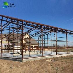 Struttura in acciaio costruzione costruzione magazzino costruzione prefabbricata struttura in acciaio