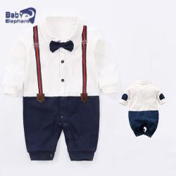 2021 신생아용 도매 패션 100% 코튼 유기농 오니시 로미스 점프슈트 유아 토들러 어린 아이 보이 아기 옷