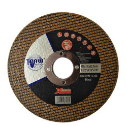 El disco de molienda de OEM de plancha metálica de acero inoxidable El acero de la rueda de abrasivos