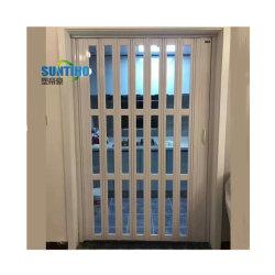 中国の大きい品質のプラスチック折れ戸PVCドアの浴室のアコーディオン
