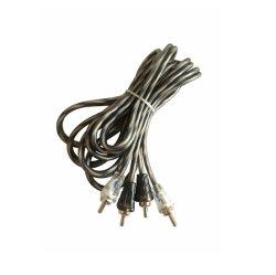 2RCA vers 2RCA M-M Isolant en PVC Câble Audio Câble AV