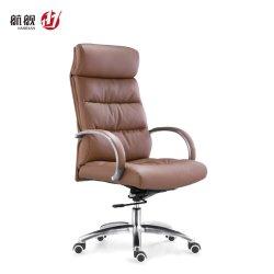 De comfortabele Hoge AchterStoel van het Bureau van het Leer van de Werkgever/van de Manager van de Stoel van de Computer Uitvoerende