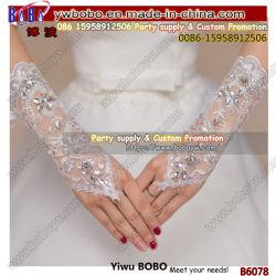 قفازات الزفاف ملحقات الزفاف زفافٍ قفازات حرير قفازات لاس قفازات العروس قفاز حبّ الزفاف (B6078)