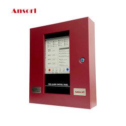 Système de centrale d'alarme incendie 4, 8, 16 zones