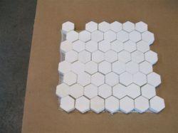アルミナのプーリーラギングのための陶磁器のライニングのモザイク・タイルか版
