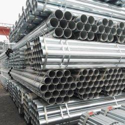 Непосредственно на заводе мягкой стали ASTM A53 ASTM A500 Sch10 Sch40 S235S355JRH ЧЖЕ ВПВ ближний свет с возможностью горячей замены трубопроводов оцинкованной стали для выбросов парниковых газов / фехтование / Трубы для воды