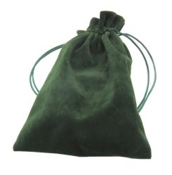 Flocage fibre Sac cadeau de promotion de l'écouteur de vin de bijoux