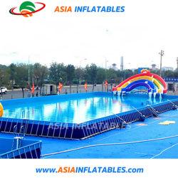Großer Metallrahmen-Swimmingpool Belüftung-12X36 mit Filter-Pumpe