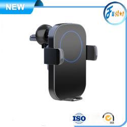 Drahtlose Aufladeeinheit Bluetooth des heißen intelligenten Fühler-R1 des Auto-2019 automatische festklemmende 10W, das Qi-drahtlosen Aufladeeinheits-Auto-Telefon-Halter in Position bringt