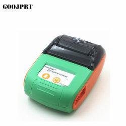 人間の特徴をもつIosのパソコンが付いている無線小型58mm Bluetoothプリンター携帯用熱レシートプリンター携帯電話