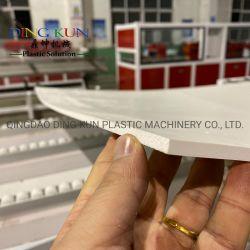 PVC / WPC compuesto de madera / Celuka corteza / junta de espuma de piel /Grupo/ hoja de plástico de la extrusora placa /que hace la máquina para la puerta/ Mobiliario / Producción de la pared con CE