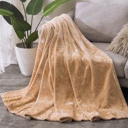 Fleece Blanketsfor toda a temporada 350gsm - Premium Anti-Static leve atirar para o tecido da Escova Macia Extra Cama Quente Sofá Manta Térmica