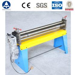 1.5M электрический асимметричный 3-роликовый гибочный станок для круглых распределительный воздуховод