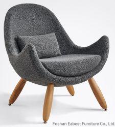 Moderne Freizeitmöbel Stuhl Einzelsofa für Home Ruhebereich Lounge mit Stoff