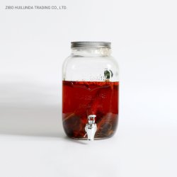 Bouteille de vin en verre avec couvercle, Multi-Specification, grande capacité du réservoir de verre bocal en verre,