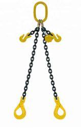 Quatre pieds en alliage de classe 80 maillon de chaîne de levage des élingues au crochet