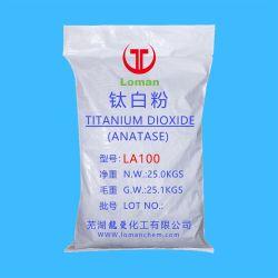 Anatasi anatasio rifrattiva e bianchezza elevata titanio diossido, n. CAS 13463-67-7 TiO2 anatasio
