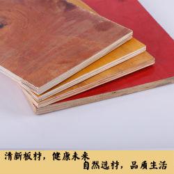 Venda a quente folheado de melamina HDF /madeira contraplacada comercial/filme enfrentou o contraplacado para construção/Prédio