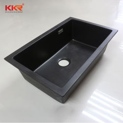 固体表面の合成の石造りのアクリル樹脂の台所の流し