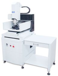 2017新しいデザインJd3025小型CNCのルーターの彫版機械