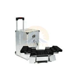 Высокая портативный алюминиевый передвижной косметический (HB-1311)