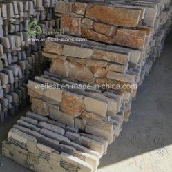 Hig 질 자연적인 벽 클래딩 슬레이트 돌 위원회