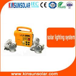 太陽エネルギーシステムをつける低価格のホーム携帯用屋内屋外5W 10W 15W