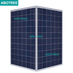 235 W com 240W 265W Poly Painel Solar como eles funcionam