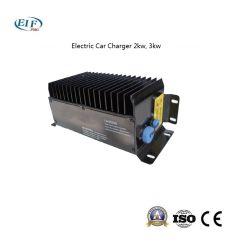 2kw Chargeur de voiture électrique 48V, adaptateur secteur installé sur le véhicule