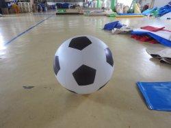 Пвх надувные футбольный мяч на размещение рекламы