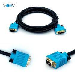 DVI macho de alta velocidad (24+5) Cable VGA Macho a macho con 3D