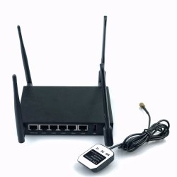 6 portas CAT6 Router 4G Industrial com Dual Slot para cartão SIM