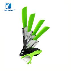 Керамические кухонные ножи и установить с помощью ножа для очистки овощей TPR/ABS ручки
