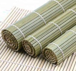 100% natural bom preço a China fez Tapete Sushi do Rolo de bambu