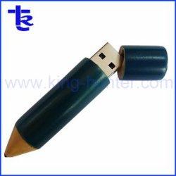 Commerce de gros cadeaux de promotion de la forme de crayon de bois disque Flash USB