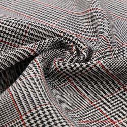 Het kleurrijke Garen Geverfte Rayon van de Polyester en Stof Spandex voor Kostuums