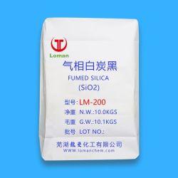 백색 분말 SiO2 소수성 미백 중국에서 나온 이산화규소