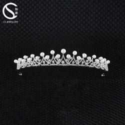 925 Sterling Silver jóias de casamento por grosso Suite Coroas e Tiaras