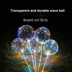 당은 풍선 투명한 LED 풍선을 공급한다
