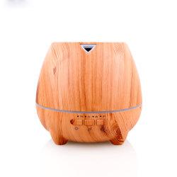 Le grain de bois décoratifs Humidificateur ultrasonique d'huile essentielle de l'air