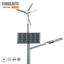 Ibrido solare dell'indicatore luminoso di via del vento della turbina di vento