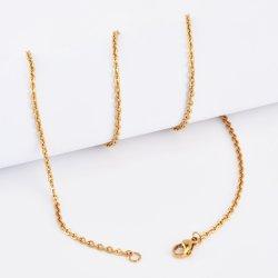 Высоких стандартов качества ювелирных изделий из нержавеющей стали с золотым покрытием леди цепочка Bangle браслет украшения