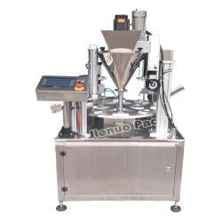 완전히 자동적인 K 컵 Nespresso 커피 캡슐 충전물 및 밀봉 기계