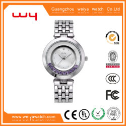 男女兼用のビジネス腕時計のステンレス鋼の腕時計(Wy-029C)