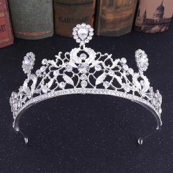 Commerce de gros Bridal Tiaras Alliage d'ornements de cheveux Mode bijoux King couronne