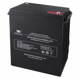 بطارية Sunstone 6V 300ah VRLA AGM لنظام إمداد الطاقة غير القابل للانقطاع (UPS) ونظام الطاقة الشمسية نظام التخزين