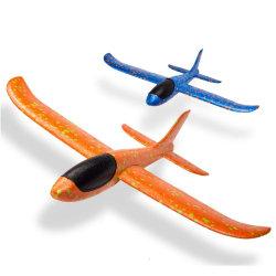 Schaumgummi-Sports flacher werfender Segelflugzeug-Spielzeug-Flugzeug-Trägheitsschaumgummi PPE-Fliegen-Modell-Segelflugzeug-im Freienspaß Fläche-Spielzeug für Kinder